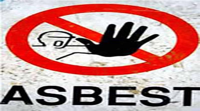 Asbest olduğunu bildiren simge